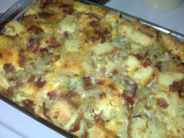 like the savory style, also known as Italian strata,for breakfast. I ...