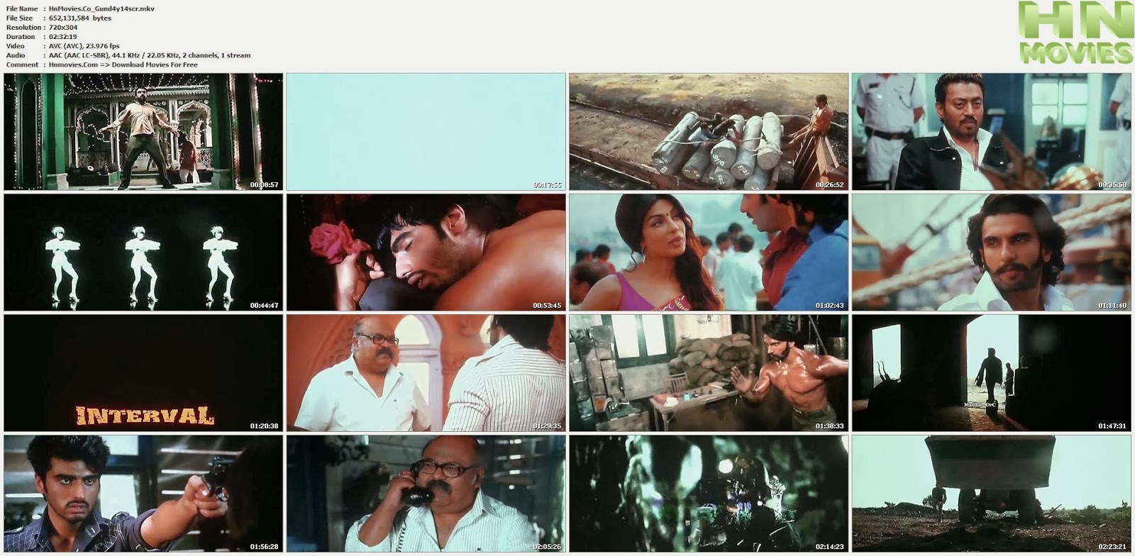 movie screenshot of Gunday fdmovie.com
