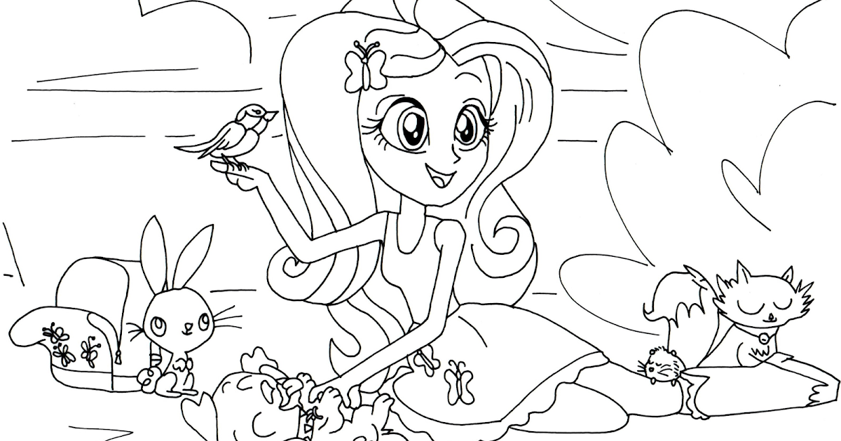 Free Printable My Little Pony Coloring Pages Fluttershy My Pony Coloring Pages Fluttershy Equestria Free