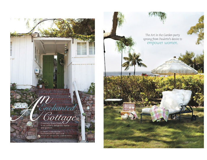 Summerland Cottage Studio Romantic Homes Magazine