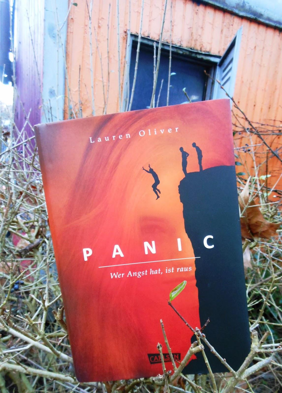 Oliver, Lauren: Panic