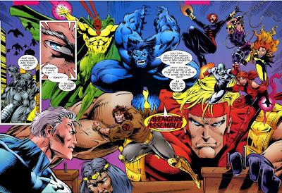 Avengers Crossing Assemble