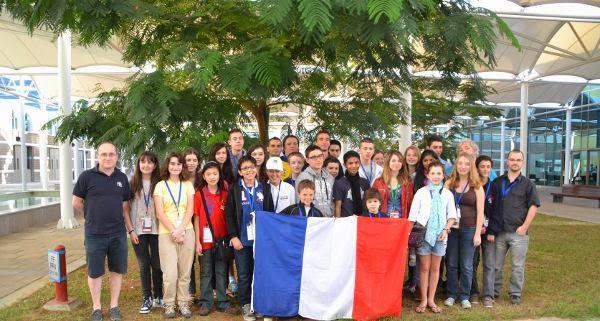 L'équipe de France d'échecs © FFE
