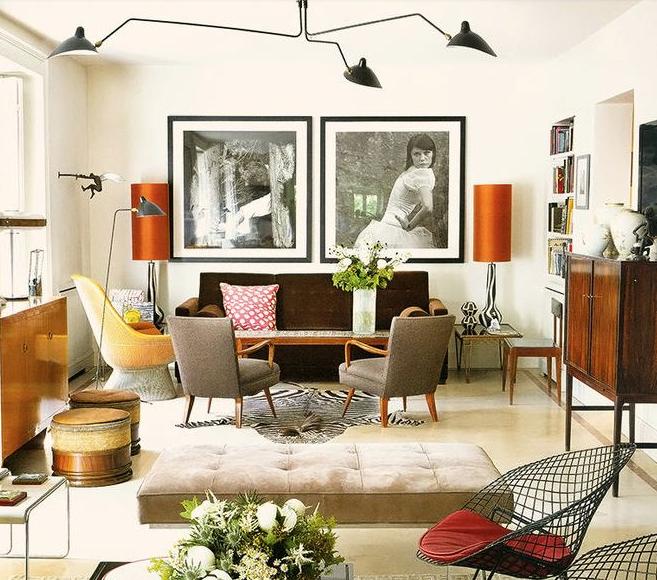Best Kelvin For Living Room: Rosa Beltran Design: SERGE MOUILLE INSPIRATION AND A ROUND