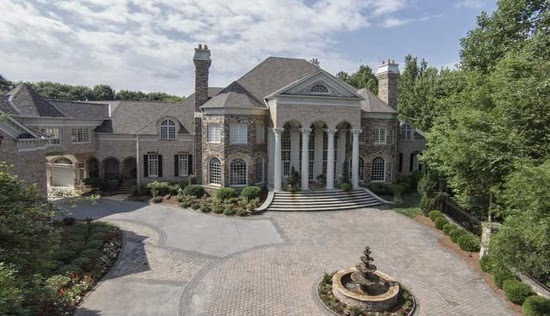 Homes mansions mega mansion for sale in johns creek ga for Castle mansions for sale