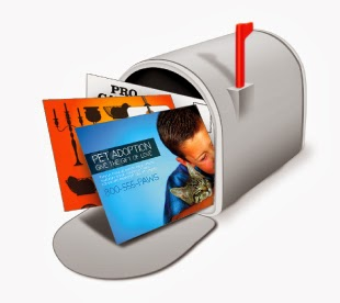 Every Door Direct Mail postcards