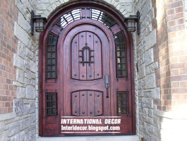 New Classic Wood Door Design And Color