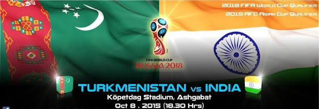 2018 World Cup Qualifiers: Turkmenistan 2-1 India