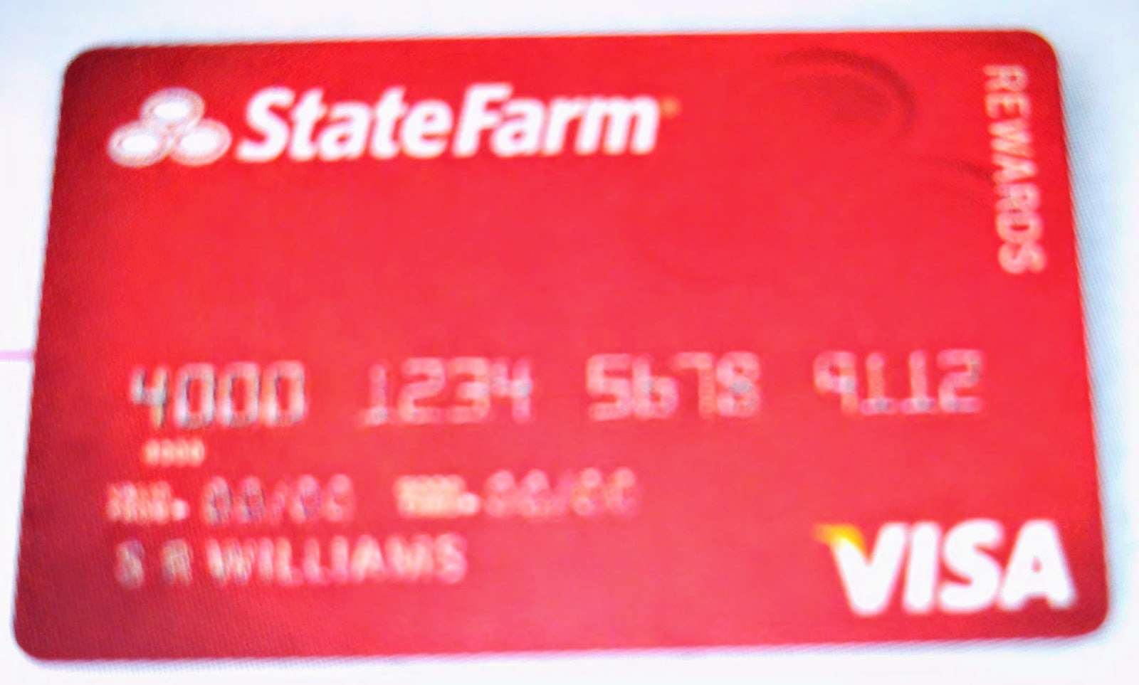 State Farm Credit Card- It's a Good Offer