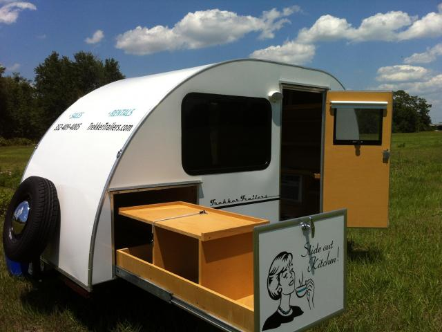 Featured Teardrop Trekker Trailers