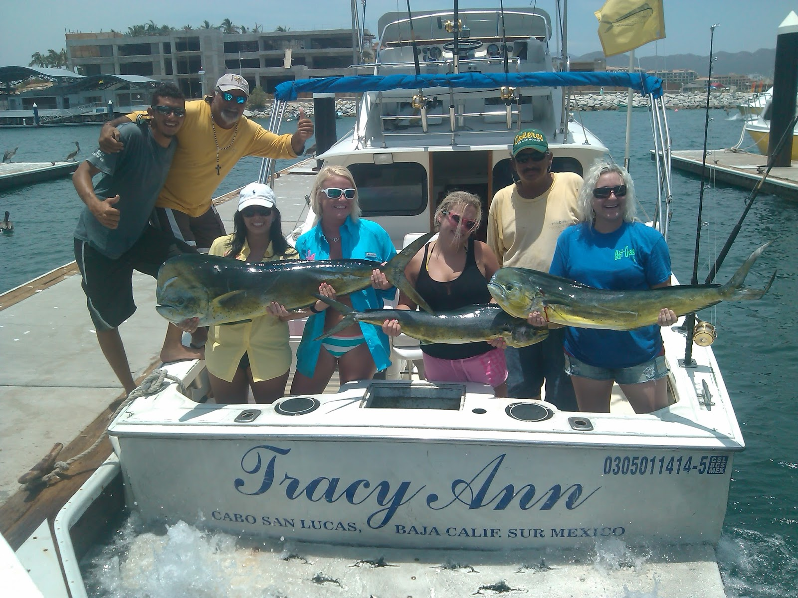 Pisces fleet sportfishing blog girls fishing trip for Fishing cabo san lucas
