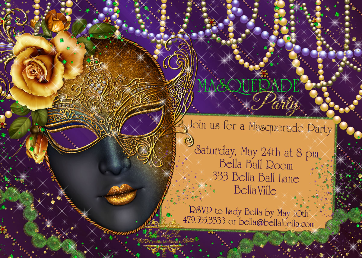 Masquerade Party Invitations On Pinterest Masquerade | hnczcyw.com