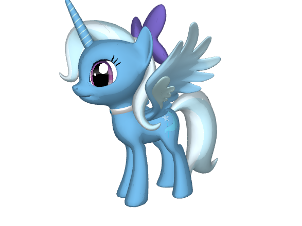 My Little Pony Friendship Is Magic 3D images 3D Luna HD wallpaper ...