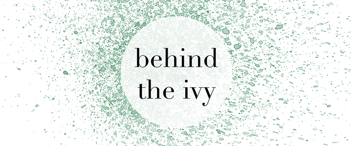 behind the ivy