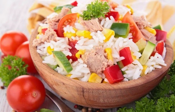 Salad with Rice Recipes