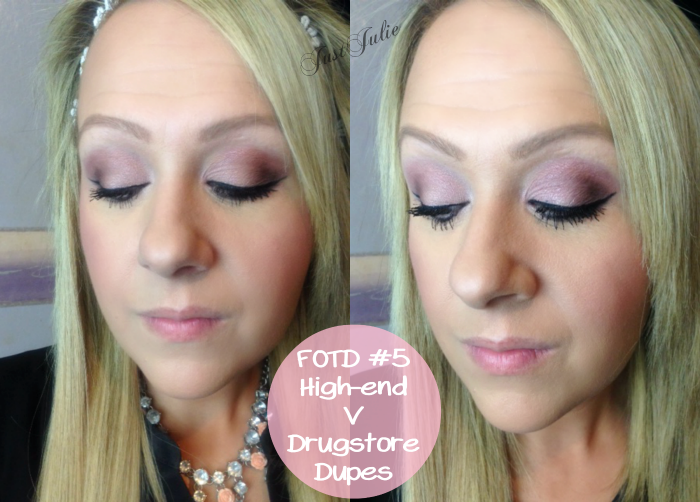 It's been several weeks since I last posted a Face Of The Day look so I thought I'd do one with a twist for you all, one using high-end makeup and then ...