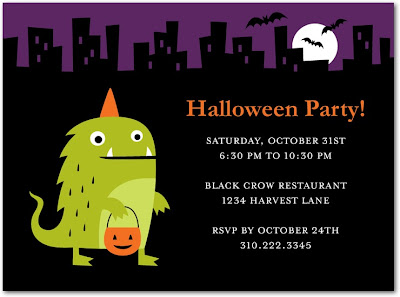 Halloween party invitation templates Best Holiday Pictures