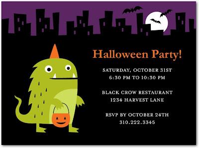 Halloween party invitation templates – Invitation for Halloween Party