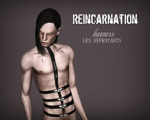 My Sims 3 Blog Reincarnation Harness For Males By