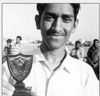 Childhood Picture of M.S.Dhoni