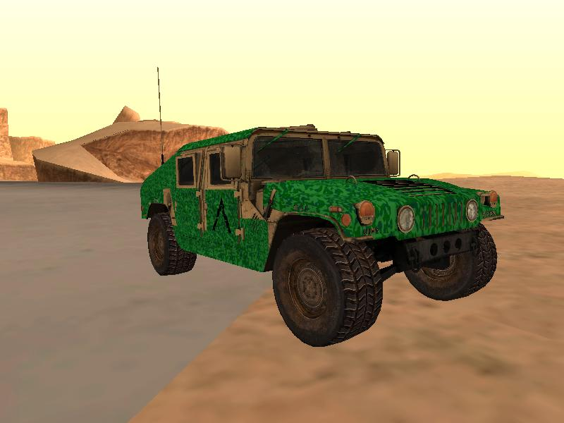 GTA San Andreas Vehicle Mod All humvee textures File Information