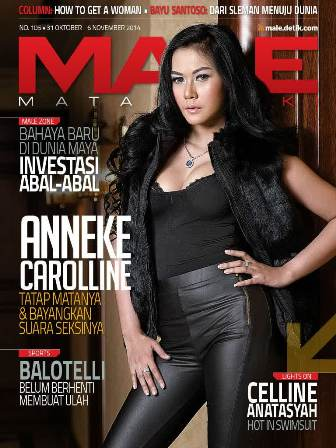 Download Gratis Majalah MALE Mata Lelaki Edisi 105 Cover Model Anneke Carolline| MALE Mata Lelaki 105 Indonesia | Cover MALE 105 Anneke Carolline | www.insight-zone.com