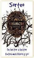 Sorteo Entre mis libros y yo : Khimera