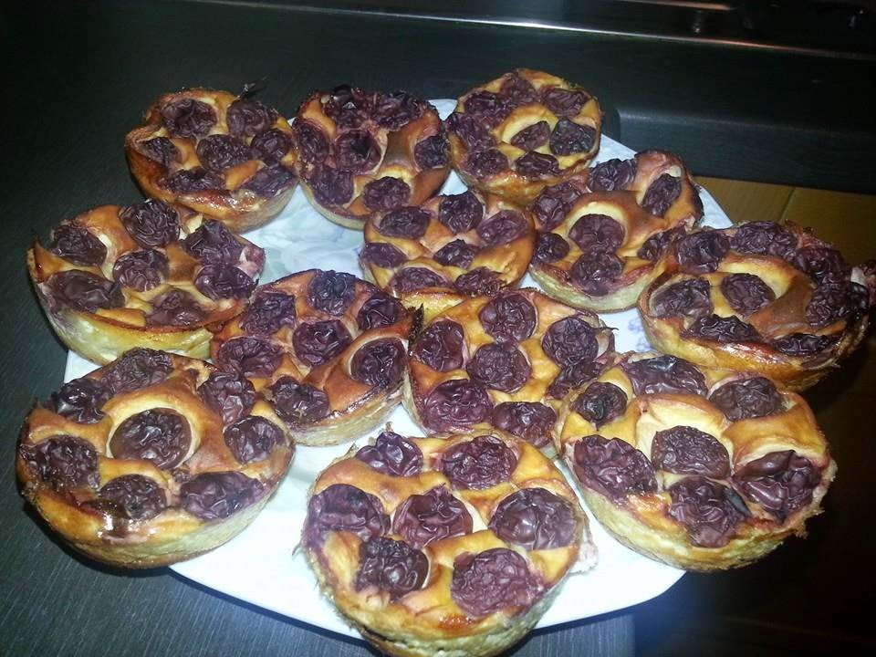 Lecker und kalorienarm kochen quark vanille kirsch muffins for Kochen kalorienarm