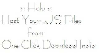 Hosting Javascript (.JS) Files Free and Easy