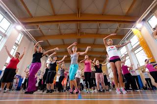 """Charytatywny maraton fitness """"Z Energią"""" w Rudzie Śląskiej. fot. Łukasz Cyrus"""