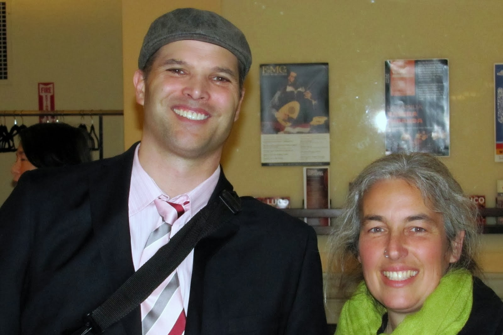 Vera And Matt Taibbi