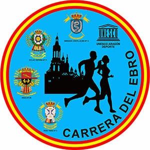 logotipo carrera del ebro zaragoza 2015