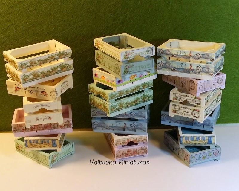 Miniaturas cajas de fruta - Cajas de fruta decoradas ...