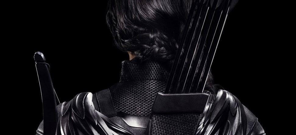 Jennifer Lawrence está pronta para liderar a rebelião no teaser pôster inédito de Jogos Vorazes: A Esperança - Parte 1