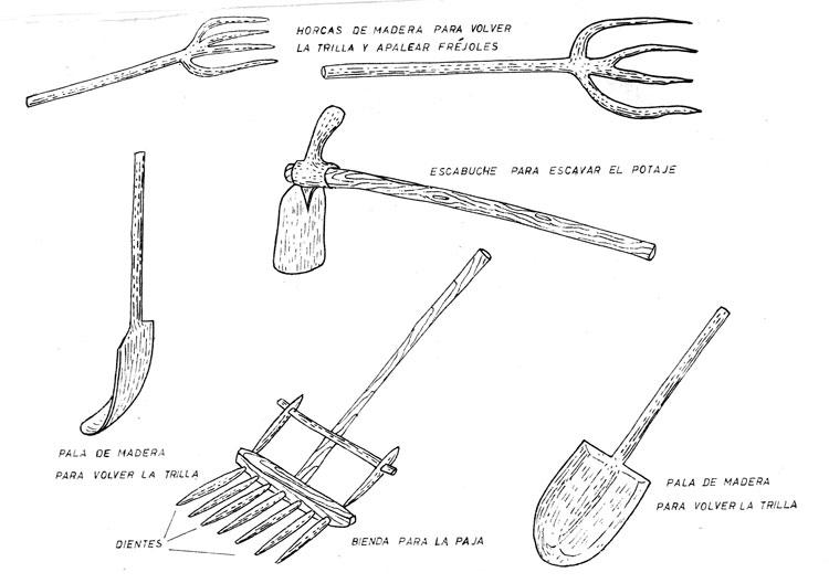 Gente de valdealiso utensilios de labranza - Herramientas de campo antiguas ...