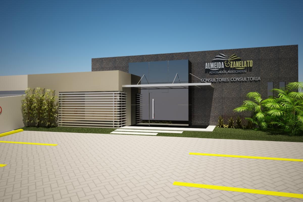 Preferência Alessandra Isolani - Arquitetura: Reforma fachada escritório de  DX78