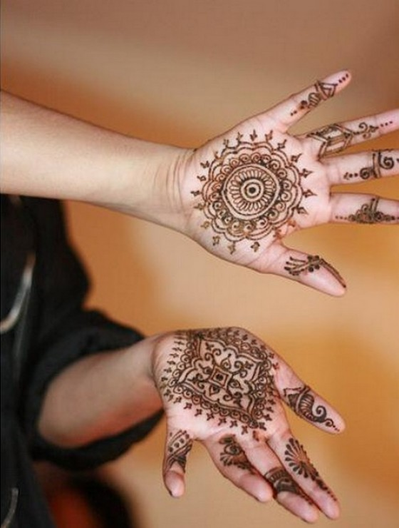 A To Z Mehndi Designs : Tatto files simple mehndi designs for girls