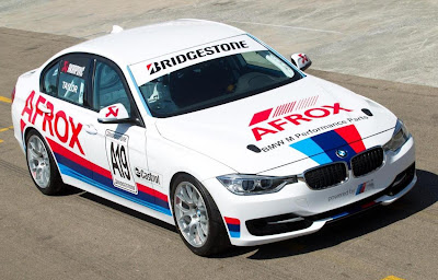 BMW 335i Production Race Saloon 2012 Front Side 1