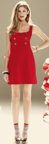 vestido rojo 2011