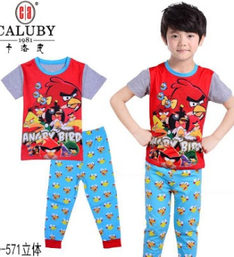 RM25 - Pyjama Angry Birds