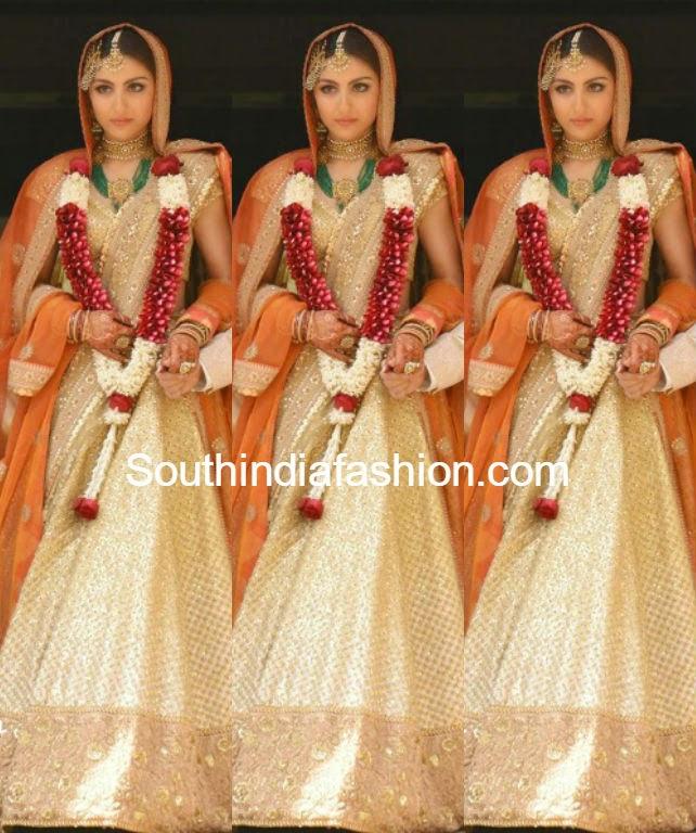 Soha Ali Khan wedding lehenga