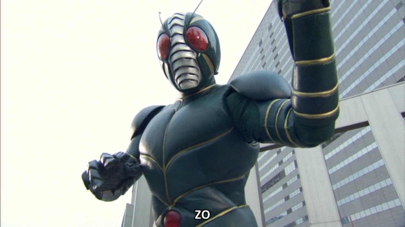 Kamen rider zo zo for Domon man 2010