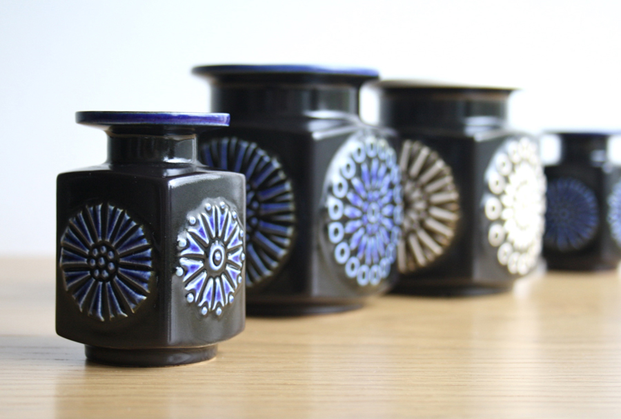 Potshots Hornsea Impact Vases And Boxes From 1964 1965