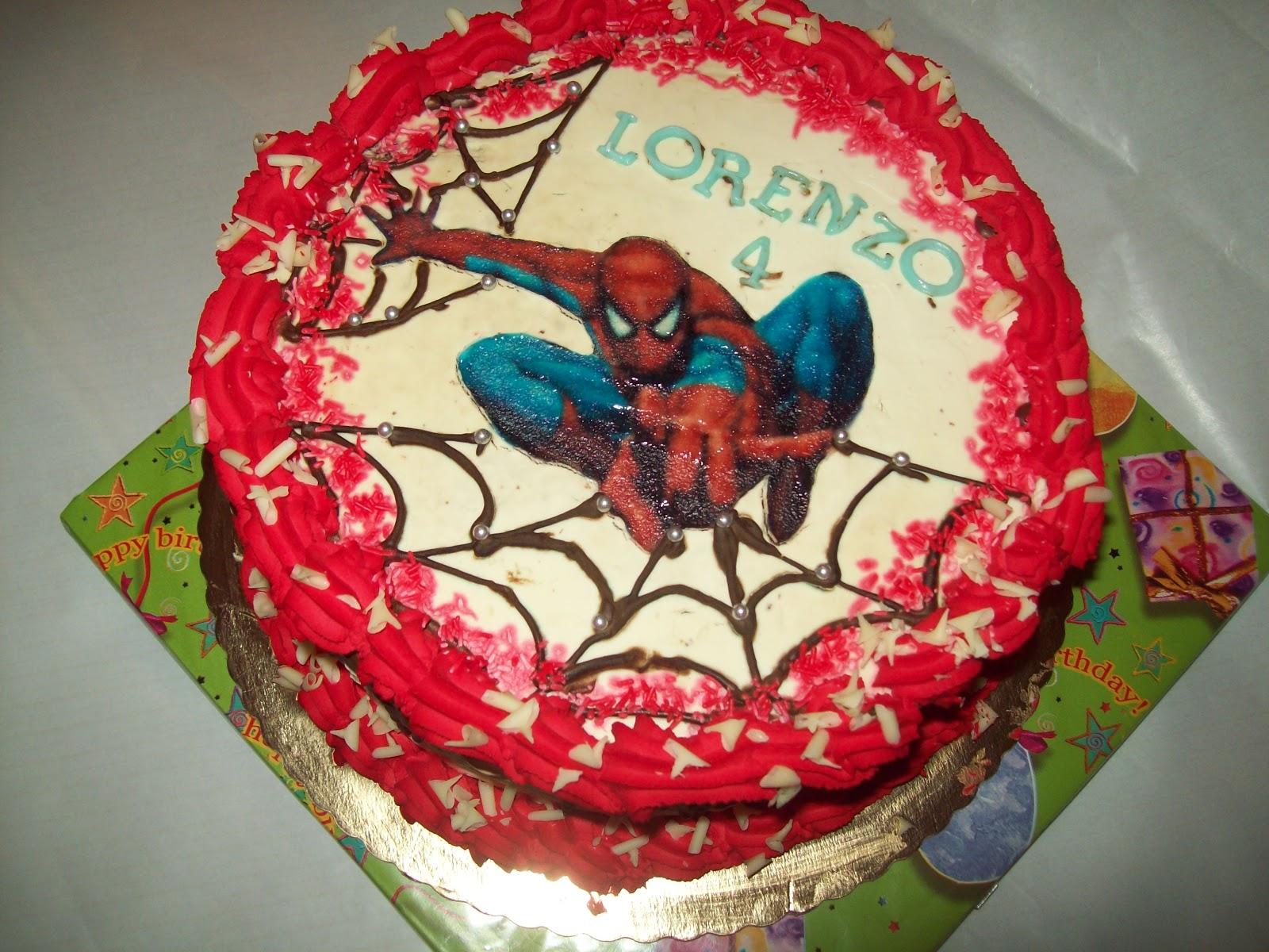 michela cake designer spiderman. Black Bedroom Furniture Sets. Home Design Ideas