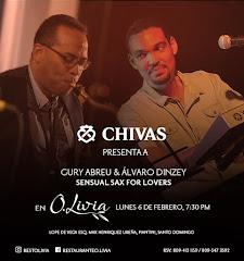 Jazz en O.Livia presenta, este lunes 6 de Febrero a partir de las 7:30PM: