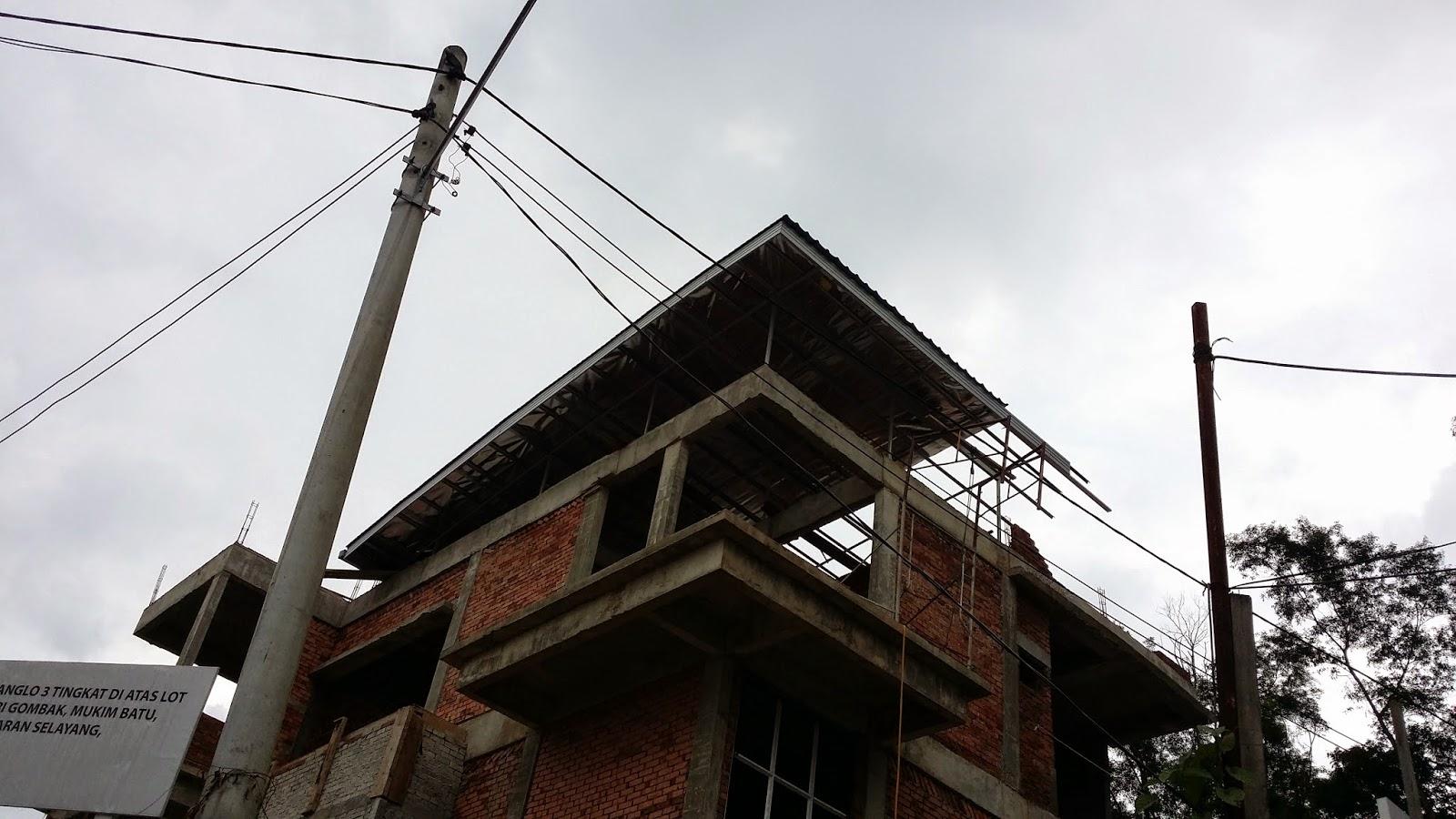 Renovation Dan Ubahsuai Rumah Kekuda Besi Rangka Atap