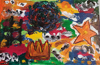 Studying Under the Masters-Jean Michael Basquiat -inspiration