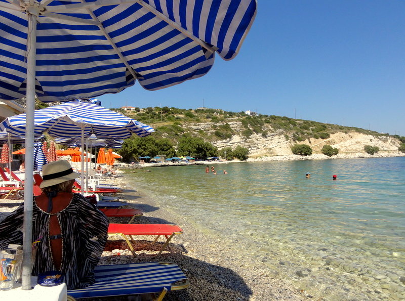 An afternoon in Rematiki Beach, Pythagorion  Travel and ...