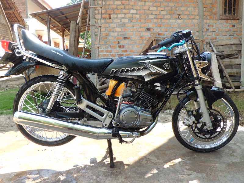 YAMAHA RX KING MODIFIKASI DRAG title=