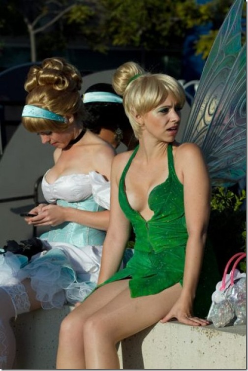 Real life nude tinkerbell
